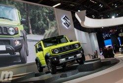 El nuevo Suzuki Jimny debuta en Europa en el Salón de París 2018