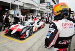 El Toyota #8 de Alonso lidera los primeros libres en Fuji