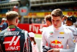 Verstappen encabeza el ranking de puntos por sanción, Magnussen 12º
