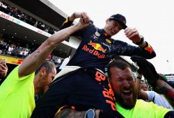 """Verstappen: """"No dormí muy bien anoche, pero estaba decidido a ganar hoy"""""""