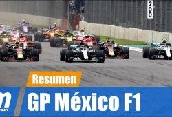 [Vídeo] Resumen del GP de México de F1 2018