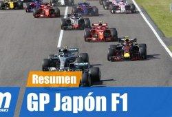 [Vídeo] Resumen del GP de Japón de F1 2018
