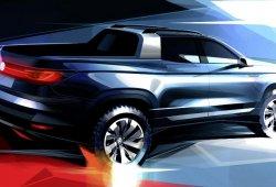 Primera imagen del nuevo pick-up compacto de Volkswagen