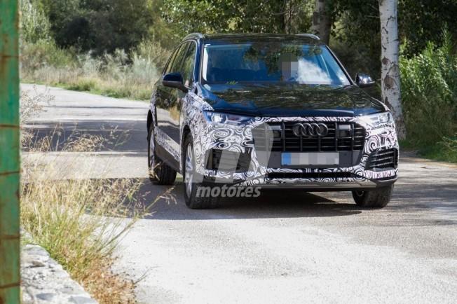 Audi Q7 2019 - foto espía frontal