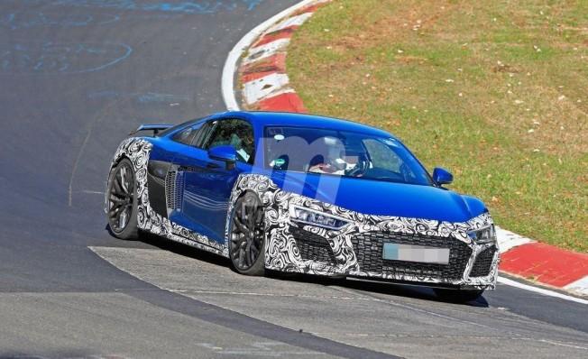 Audi R8 2019 - foto espía