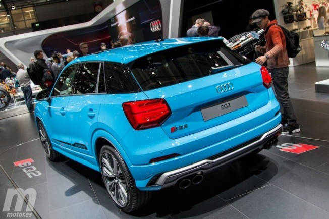 Audi SQ2 - posterior