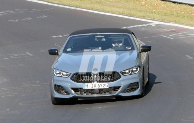 El nuevo BMW M850i xDrive Cabrio afronta sus últimas pruebas en Nürburgring