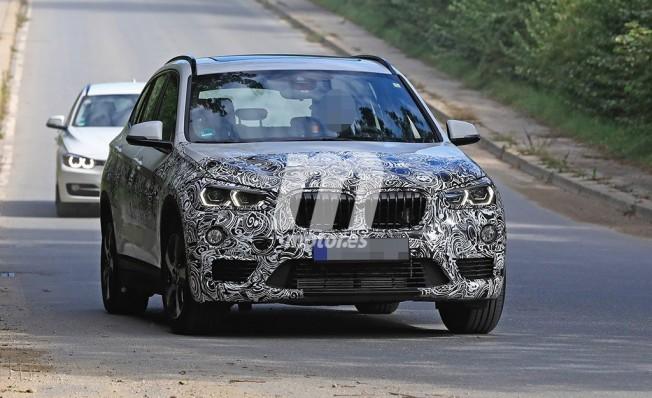 BMW X1 híbrido enchufable - foto espía