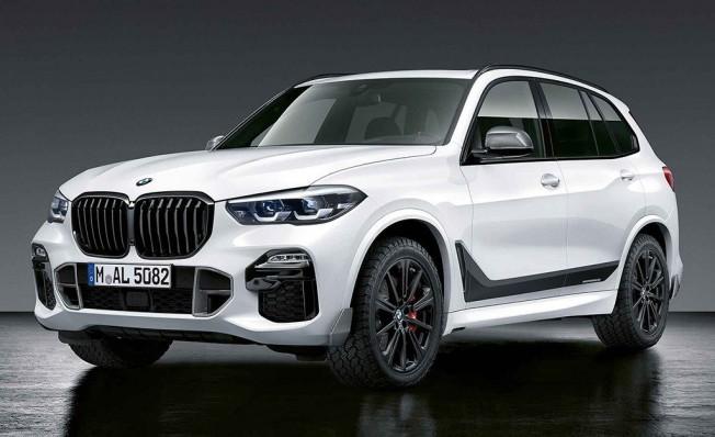 BMW X5 2019 con los accesorios M Performance