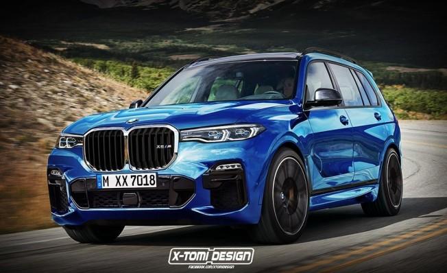 BMW X7 M - recreación