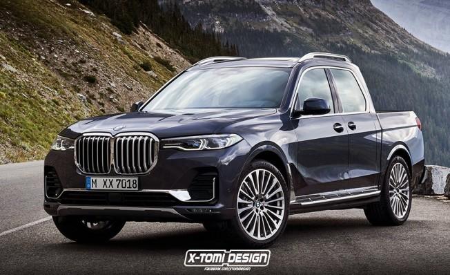 BMW X7 Pick-up - Recreación