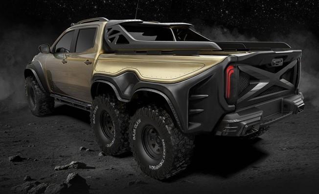 Mercedes Clase X Exy 6x6 Concept por Carlex Design