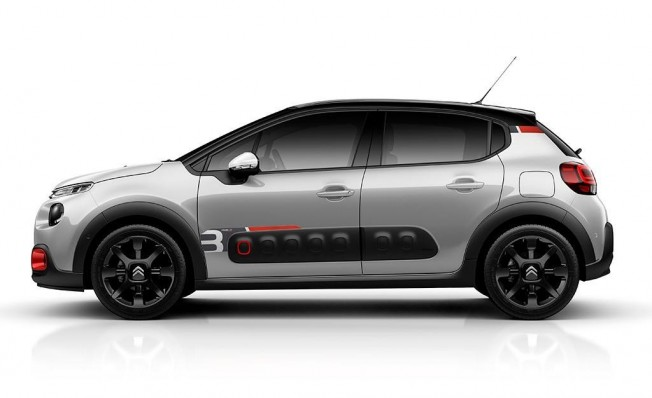 Citroën C3 RAC3 Edition - lateral