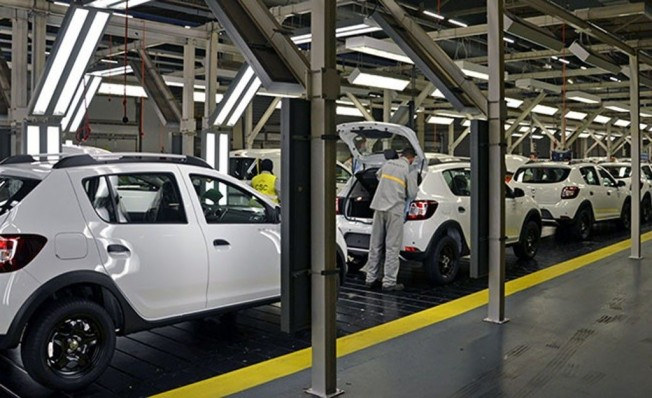 Producción del Dacia Sandero en Marruecos