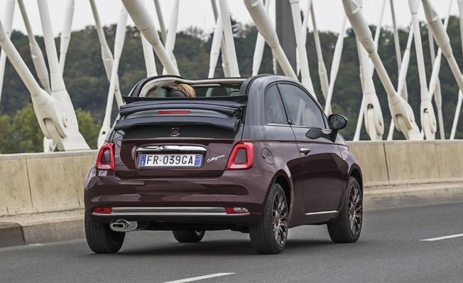 Fiat 500 Collezione Edition - posterior