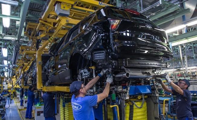 Producción del Ford Kuga en Valencia, España