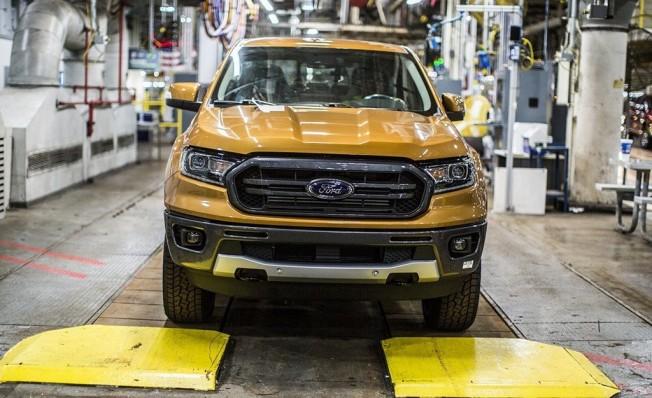 Ford Ranger 2019 - producción en Míchigan