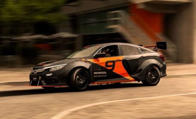 Honda Civic Hybrid Rallycross
