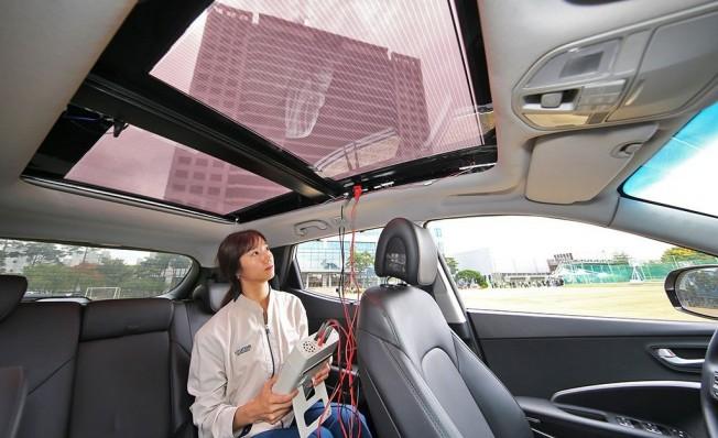 Los coches de Hyundai y Kia tendrán paneles solares