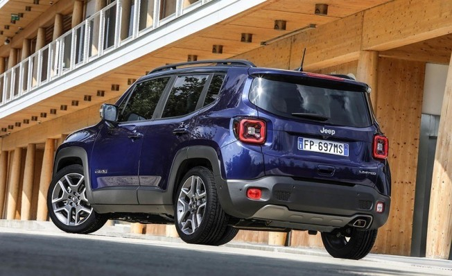 Jeep Renegade 2019 - posterior