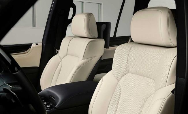Lexus LX Inspiration Series - interior