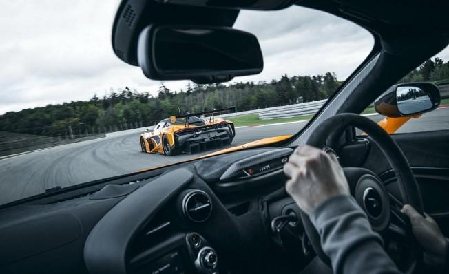McLaren 720S Track Pack - interior