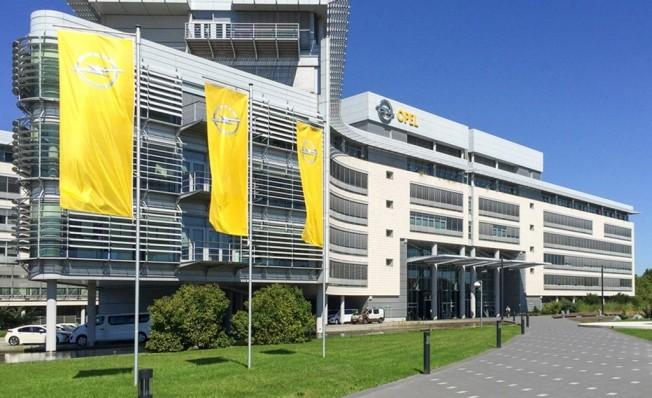 Opel en Rüsselsheim