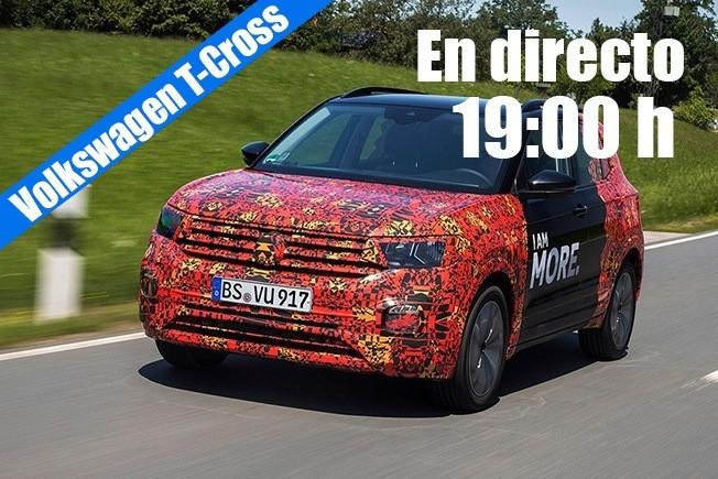 Volkswagen T-Cross - Presentación en Directo