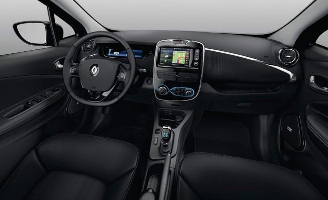 Renault Zoe Iconic - interior