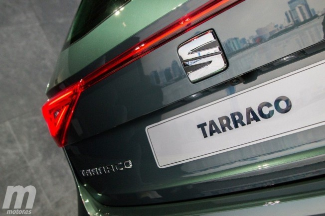 SEAT Tarraco - diseño luces traseras