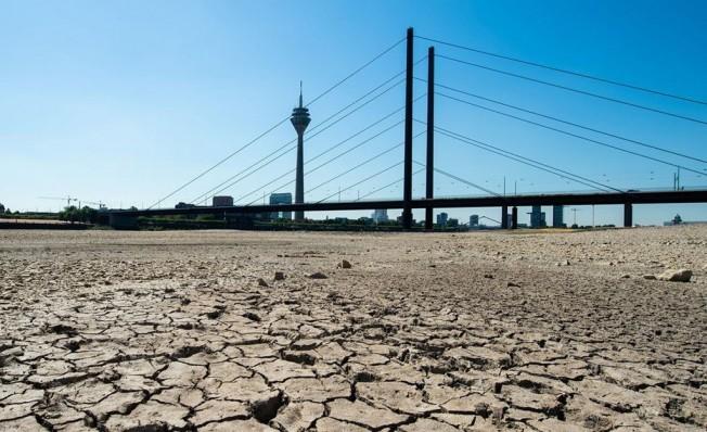 Río Rin en Alemania