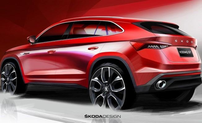 Skoda Kodiaq GT - posterior