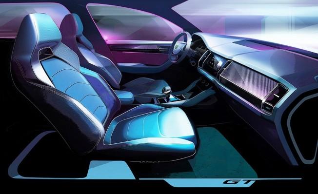 Skoda Kodiaq GT - interior