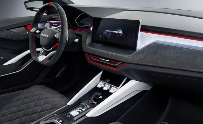 Skoda Vision RS - interior