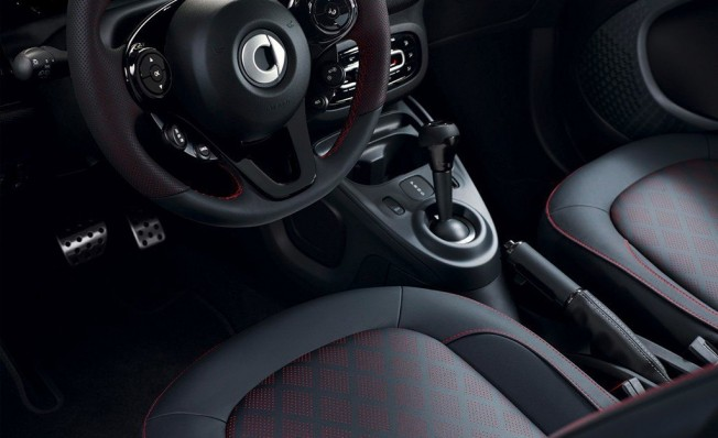 Smart ForTwo Edition PureBlack - interior