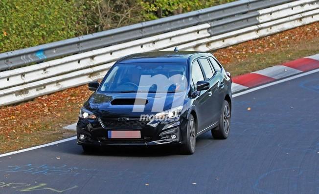 Subaru Levorg 2020 - foto espía frontal