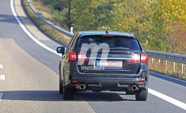 Subaru Levorg 2020 - foto espía posterior