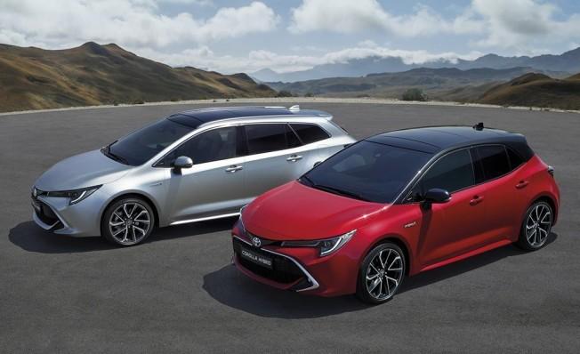 Toyota Corolla Hybrid y Toyota Corolla Touring Sports Hybrid.