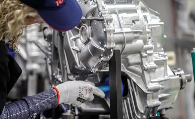 Producción de los transejes híbridos de Toyota en Polonia