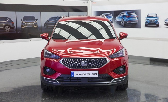 SEAT Tarraco - frontal