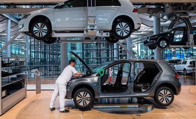 Producción del Volkswagen e-Golf