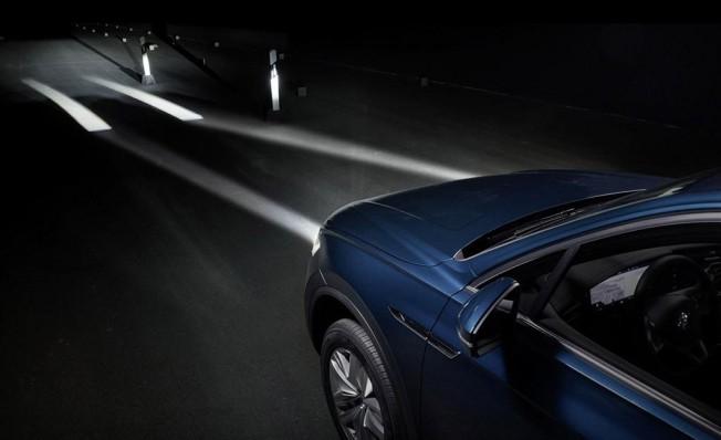 Volkswagen desvela cómo serán los futuros faros interactivos