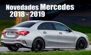 Mercedes introduce nuevos equipamientos en los Clase A, Clase C y CLS para 2019