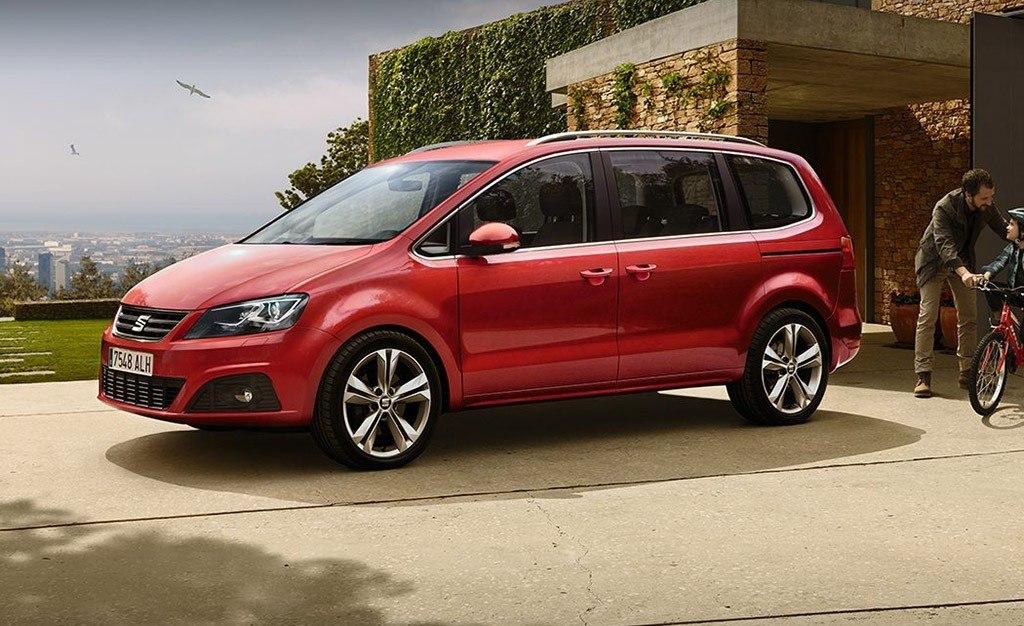 El SEAT Alhambra solo está disponible con motor diésel