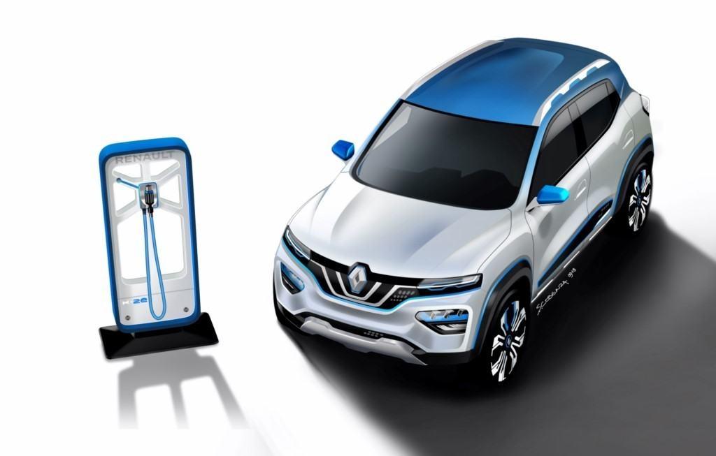 Renault desvela su tecnología de eléctricos avanzando el concepto K-ZE