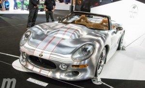 Shelby da la sorpresa en París con el nuevo Series 2 Roadster