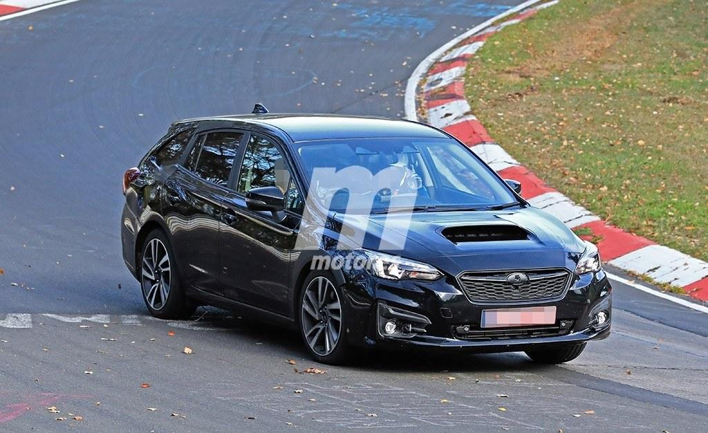 La nueva generación del Subaru Levorg está en marcha, ¡cazada en Nürburgring!
