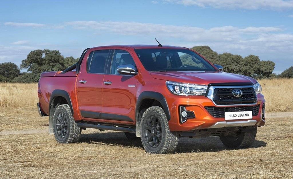 Toyota Hilux Legend Raider, una edición limitada exclusiva para España