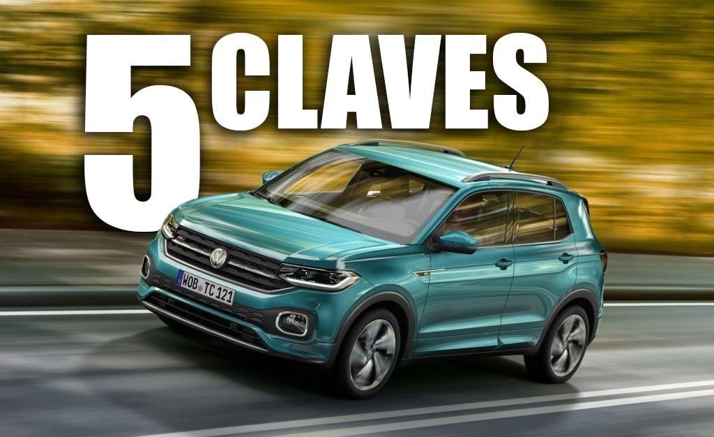 Las 5 claves del nuevo Volkswagen T-Cross, el «hermano pequeño» del T-Roc