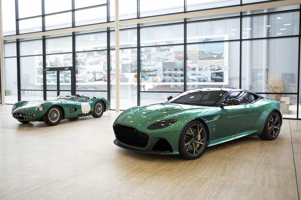 Aston Martin DBS 59: edición limitada en homenaje a Le Mans 1959
